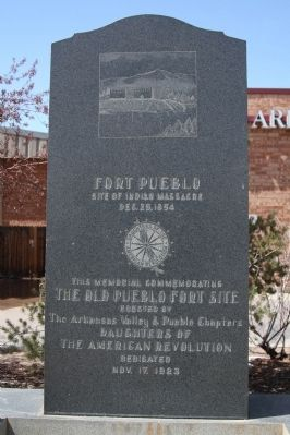 Fort Pueblo Monument image. Click for full size.