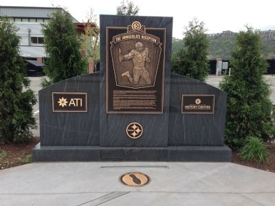 The Immaculate Reception Marker image. Click for full size.