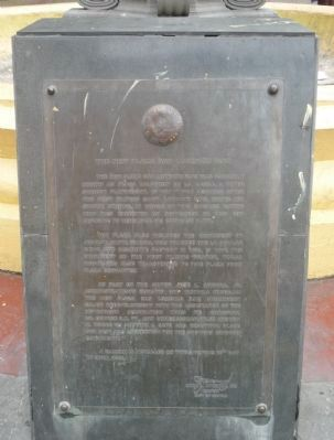 The New Plaza San Lorenzo Ruiz Marker Photo, Click for full size