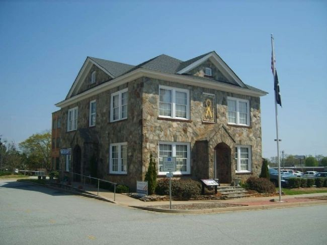 "Oconee Veterans Museum (""The Rock House"") image. Click for full size."