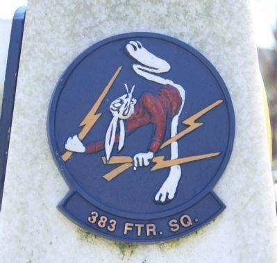 364th FG 383 FTR. SQ. emblem image. Click for full size.