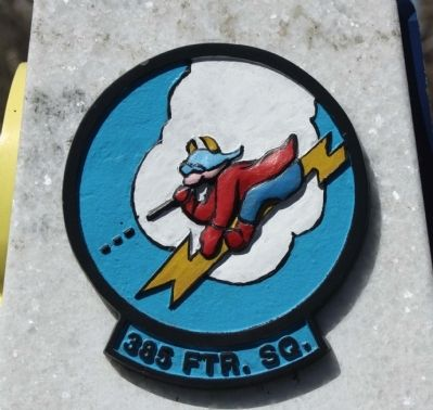 364th FG 385 FTR. SQ. emblem image. Click for full size.