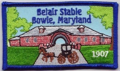 Belair Stable Patch Photo, Click for full size
