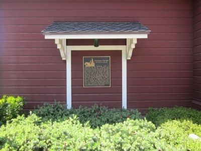 Old Novato City Hall Marker image. Click for full size.