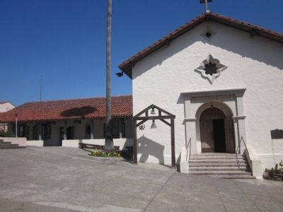 Mission San Rafael Arcangel Chapel and Side Buildings image. Click for full size.