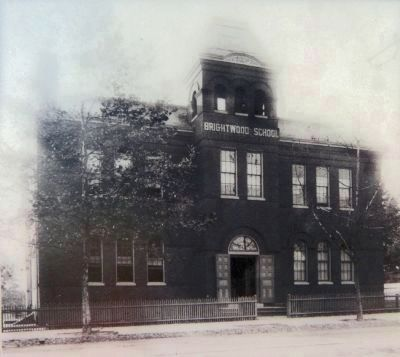 Brightwood Elementary School image. Click for full size.