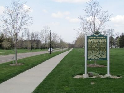 Andrews University Marker image. Click for full size.