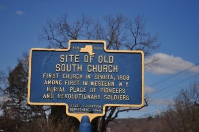 Site of Old South Church Marker image. Click for full size.