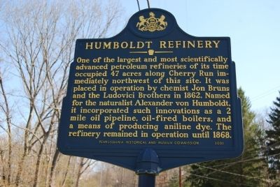 Humboldt Refinery Marker image. Click for full size.