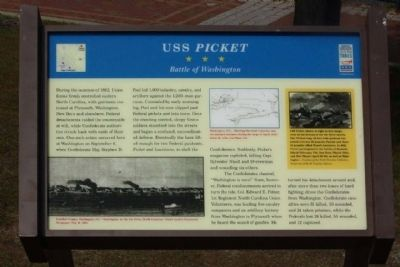 USS <i>Picket</i> Marker Photo, Click for full size