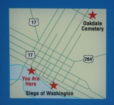 Washington map Photo, Click for full size