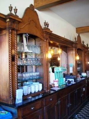 Potwin Drug Store Soda Fountain Photo, Click for full size