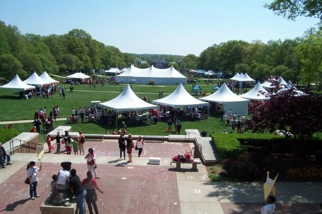 "McKeldin Mall on ""Maryland Day 2013"" image. Click for full size."