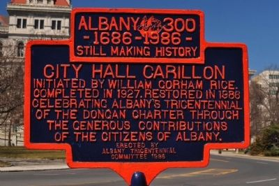 City Hall Carillon Marker image. Click for full size.