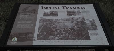 Incline Tramway Marker image. Click for full size.