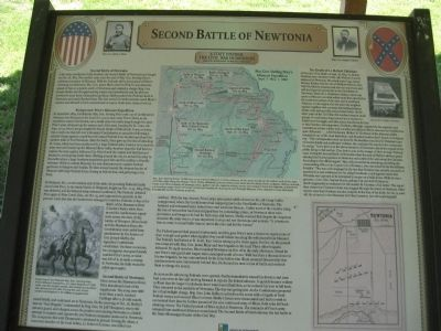 Second Battle of Newtonia Marker image. Click for full size.
