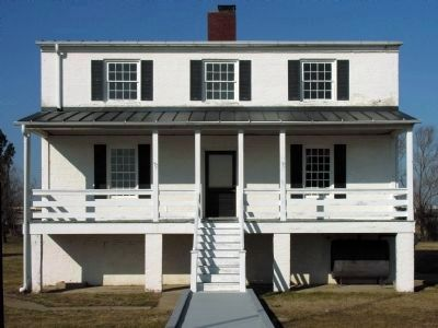 Piney Point Lighthouse Keeper's House image. Click for full size.