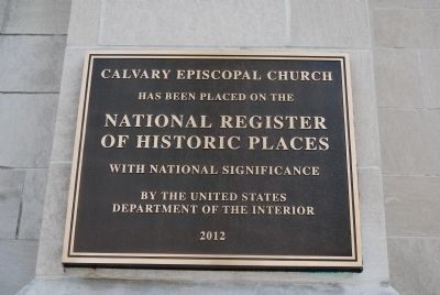 Calvary Episcopal Church image. Click for full size.