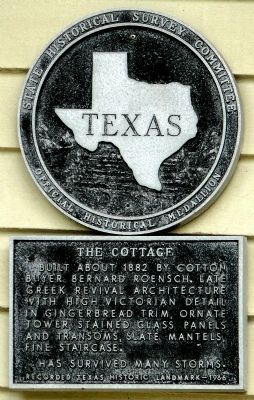 The Cottage Marker image. Click for full size.