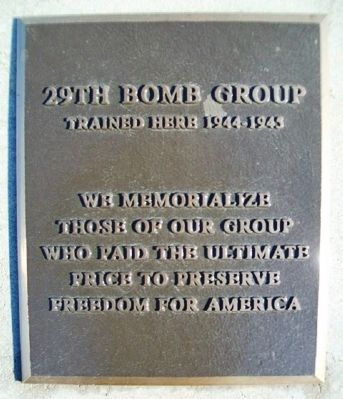 29th Bomb Group Marker image. Click for full size.