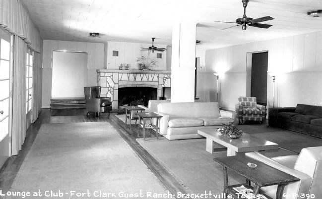 Lounge during the Guest Ranch era. image. Click for full size.