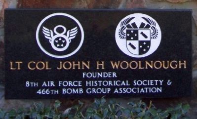 466th Bomb Group, Lt Col John H Woolnough image. Click for full size.
