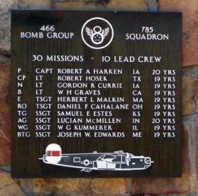 466th Bomb Group,  785th Squadron image. Click for full size.
