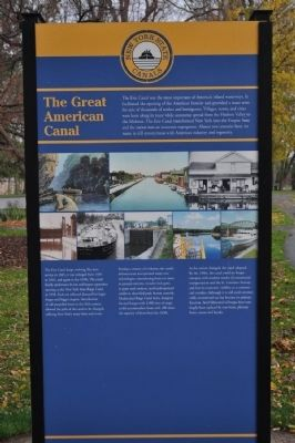 New York State Canals Marker image. Click for full size.