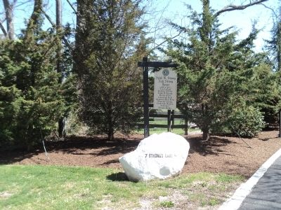 Marker in East Setauket Photo, Click for full size