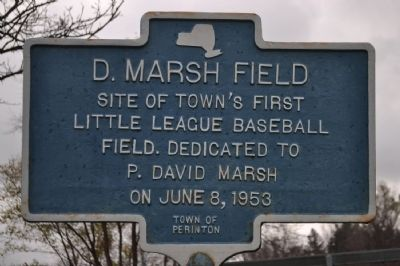 D. Marsh Field Marker image. Click for full size.