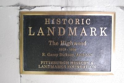 The Highwood Marker image. Click for full size.