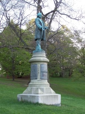 Current Site of Frederick Douglass Monument image. Click for full size.