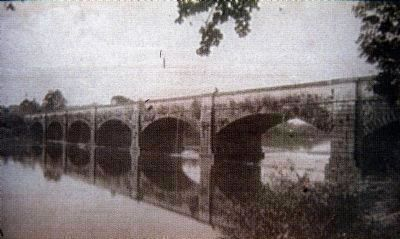Monocacy Aqueduct<br>ca. 1892 image. Click for full size.