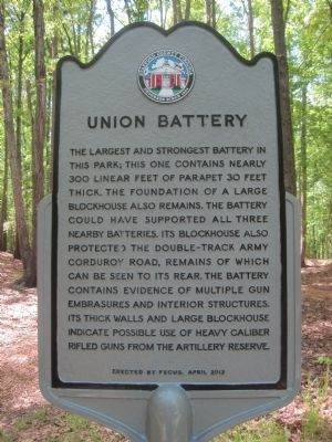 Union Battery Marker image. Click for full size.
