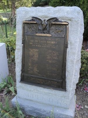 Carpenters Marker Photo, Click for full size