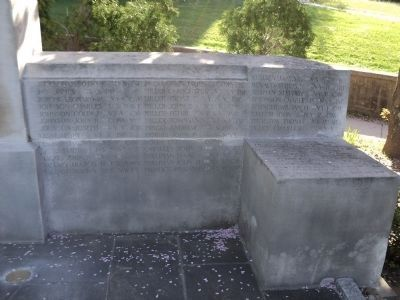 More Names on Glen Cove Civil War Memorial image. Click for full size.