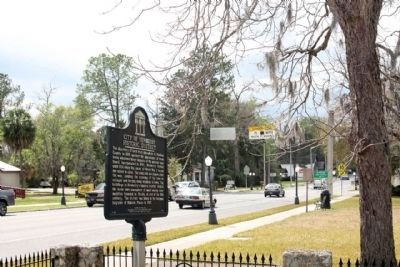 City of Newberry Historic District Marker seen along West Newberry Road (State Road 26) image. Click for full size.