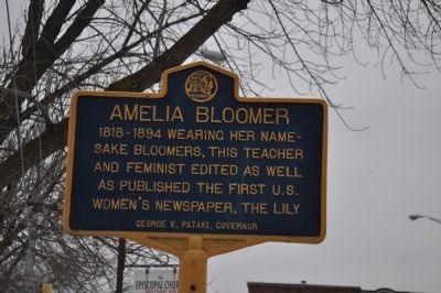 Amelia Bloomer Marker image. Click for full size.