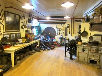 Samoa Cookhouse - Interior - Logging Museum image. Click for full size.