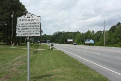 Granville Grant Marker looking west along John Small Avenue image. Click for full size.