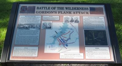 Gordon's Flank Attack Marker image. Click for full size.