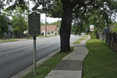 Antipedo Baptist Church / Old Baptist Cemetery Marker seen along Church Street looking northwest image. Click for full size.