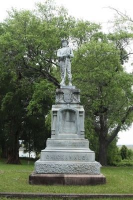 Company A, 10th South Carolina Infantry Regiment Sculpture Photo, Click for full size