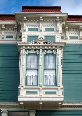 The Victorian Inn - Italianate Window image. Click for full size.