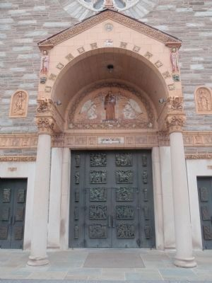 The Main Entrance to the Church image. Click for full size.