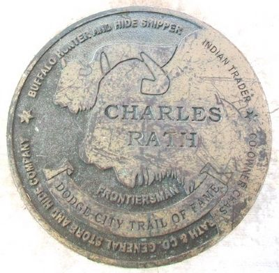 Charles Rath Marker image. Click for full size.