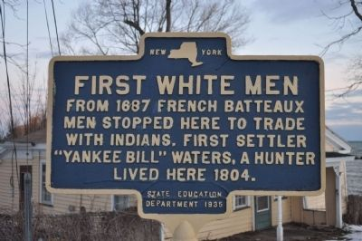First White Men Marker image. Click for full size.