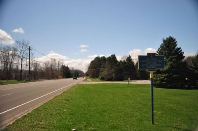 Bay Road Elementary School Marker as seen from Northern Approach image. Click for full size.