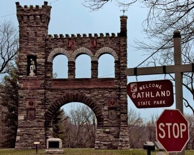Welcome to Gathland State Park image. Click for full size.