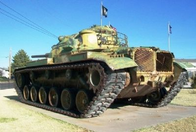 Veterans Memorial M60A3 Tank image. Click for full size.